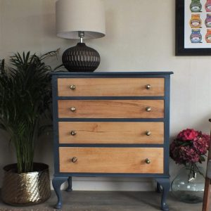 Hague Blue Oak Chest of Drawers