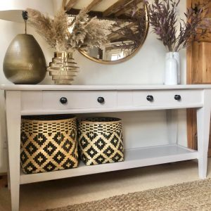 Large Pine Console Table