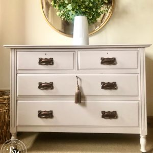 Chest of Drawers in Farrow and Ball's Peignoir
