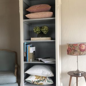 French Style Tall Bookcase