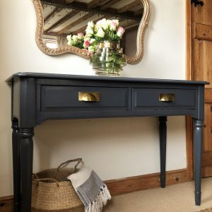 Farrow and Ball Large Pine Console Table