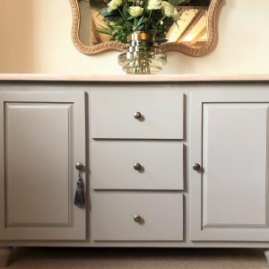 Large pine Farrow and Ball sideboard